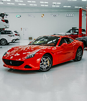 Ferrari Service Center Dubai